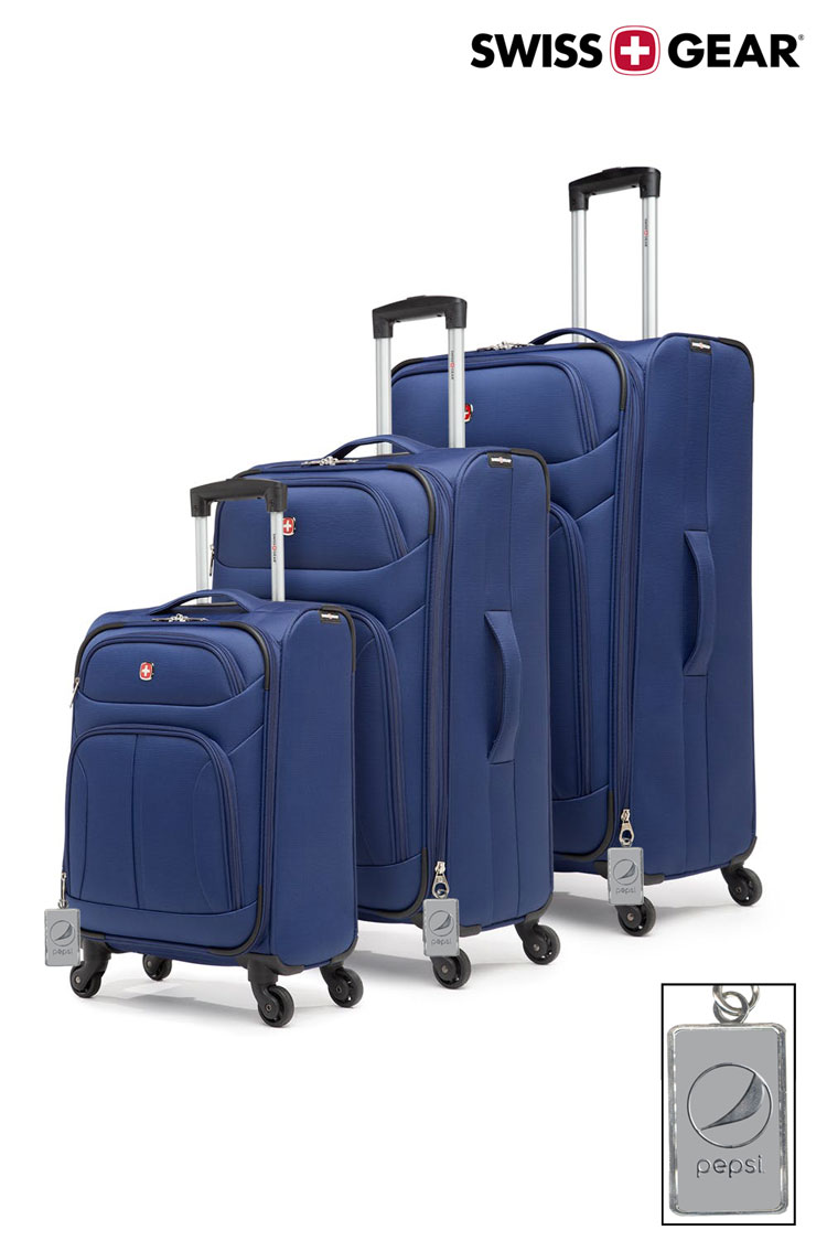 Swissgear Eclipse Collection Upright Luggage 3 Piece Set