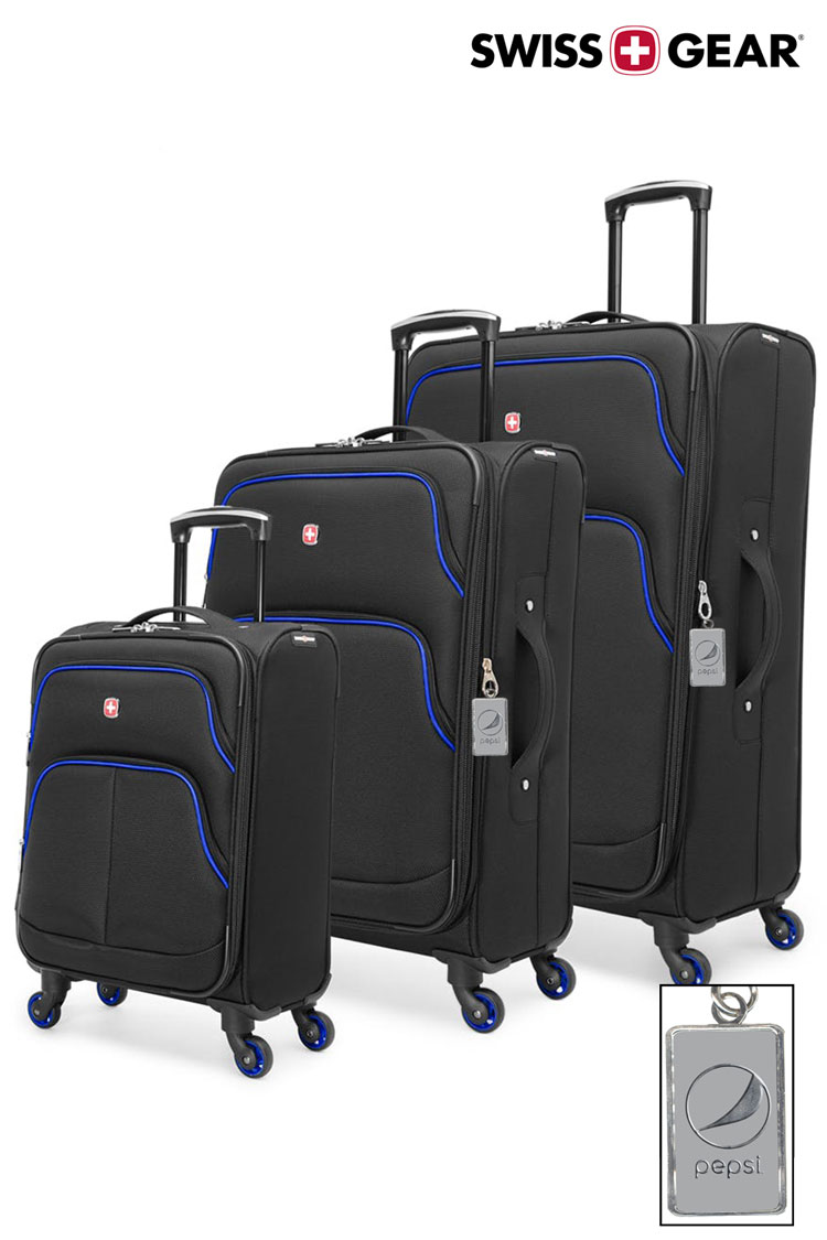 Swissgear Empire Collection Upright Luggage 3 Piece Set