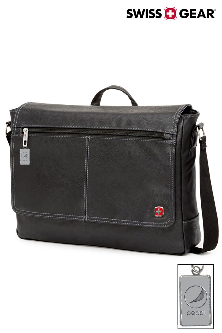 Swissgear 5115 Faux Leather 15-inch Laptop Messenger Bag