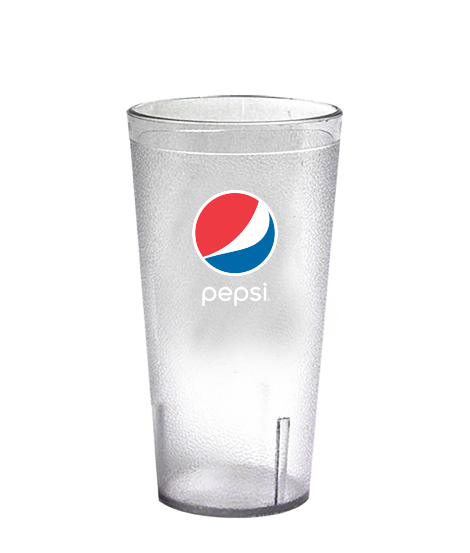 20 oz. Frosted Plastic Tumber - Pepsi......Please Login To see our very Special Pricing