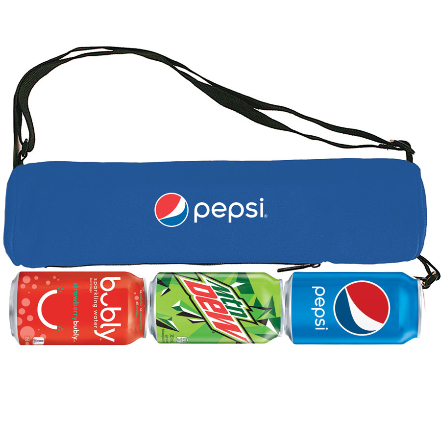 3 Can Cooler Tube - Pepsi