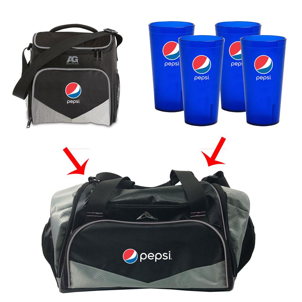 Pepsi Sports Cooler Bag Promo 2
