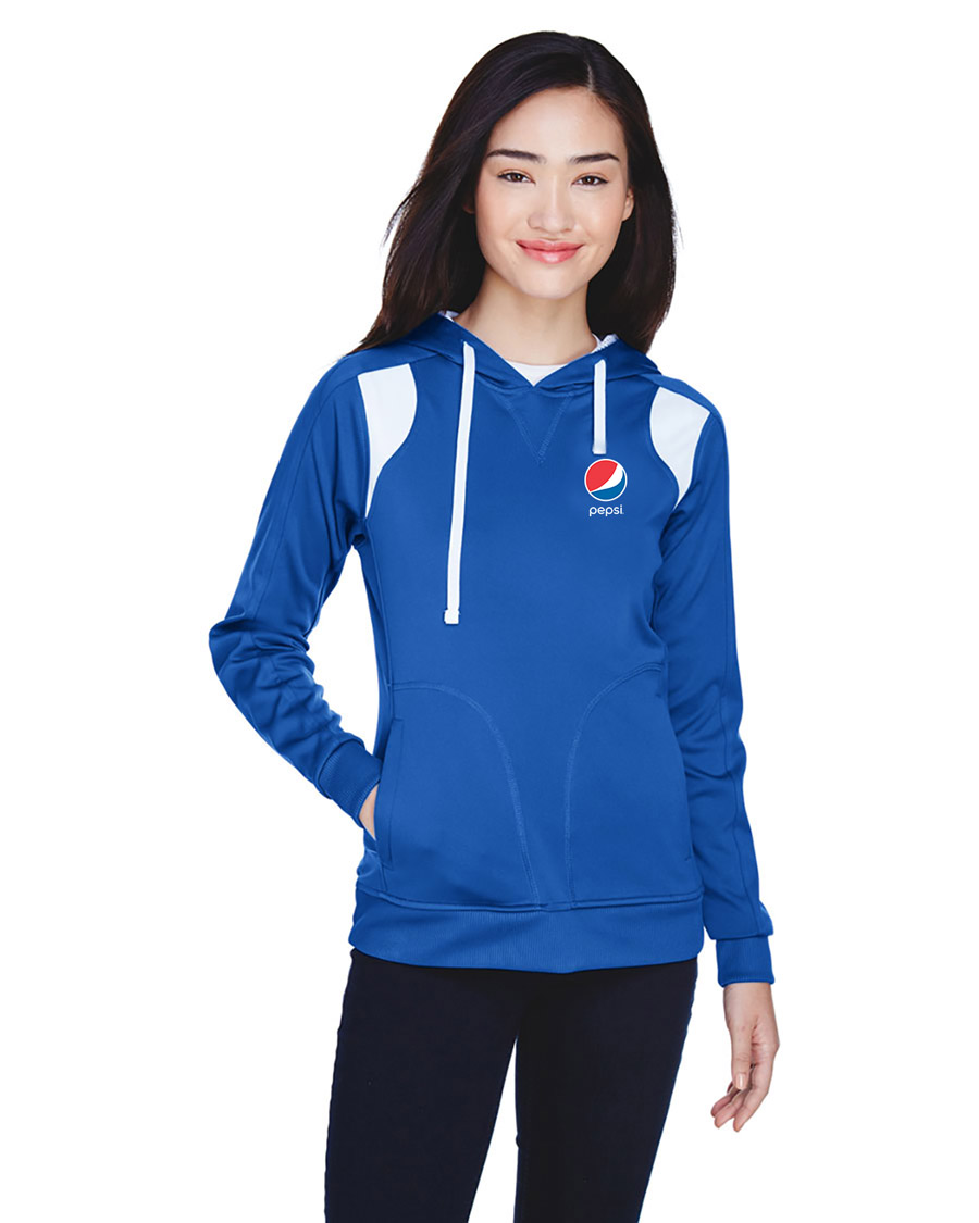 Ladies' Elite Performance Hoodie - Pepsi