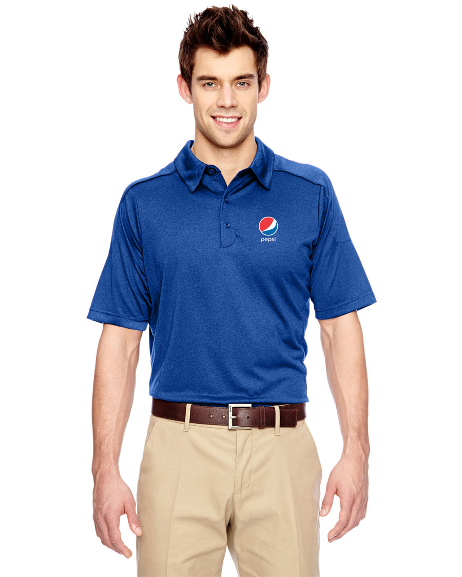 Men's Eperformance™ Fluid Mélange Polo - Pepsi