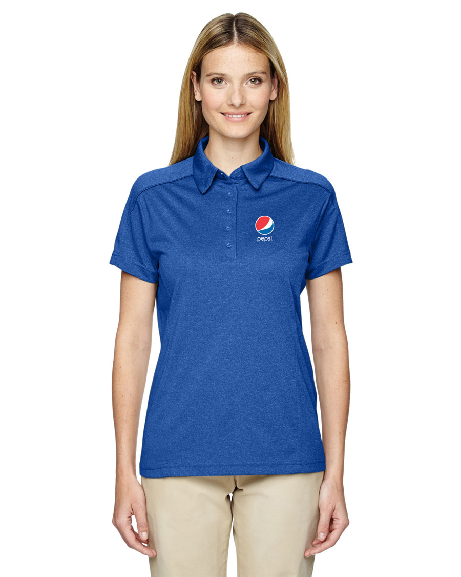 Ladies' Eperformance™ Fluid Mélange Polo - Pepsi