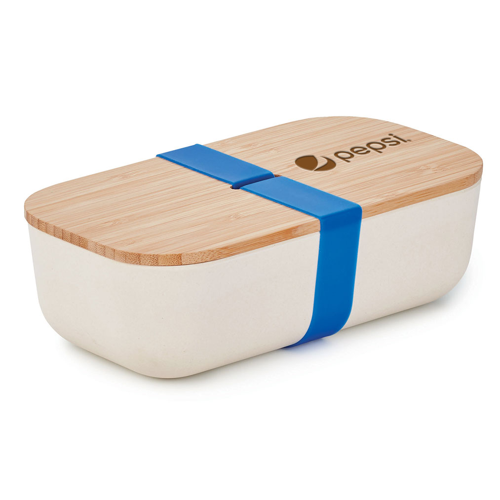 ECO BAMBOO FOOD STORAGE BOX - Pepsi