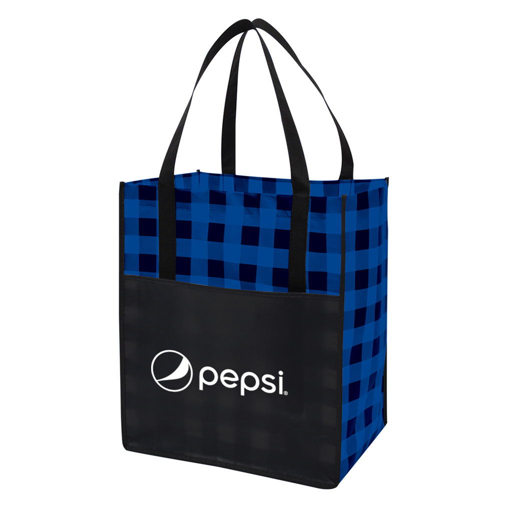 Northwoods Laminated Non-Woven Tote Bag - Pepsi
