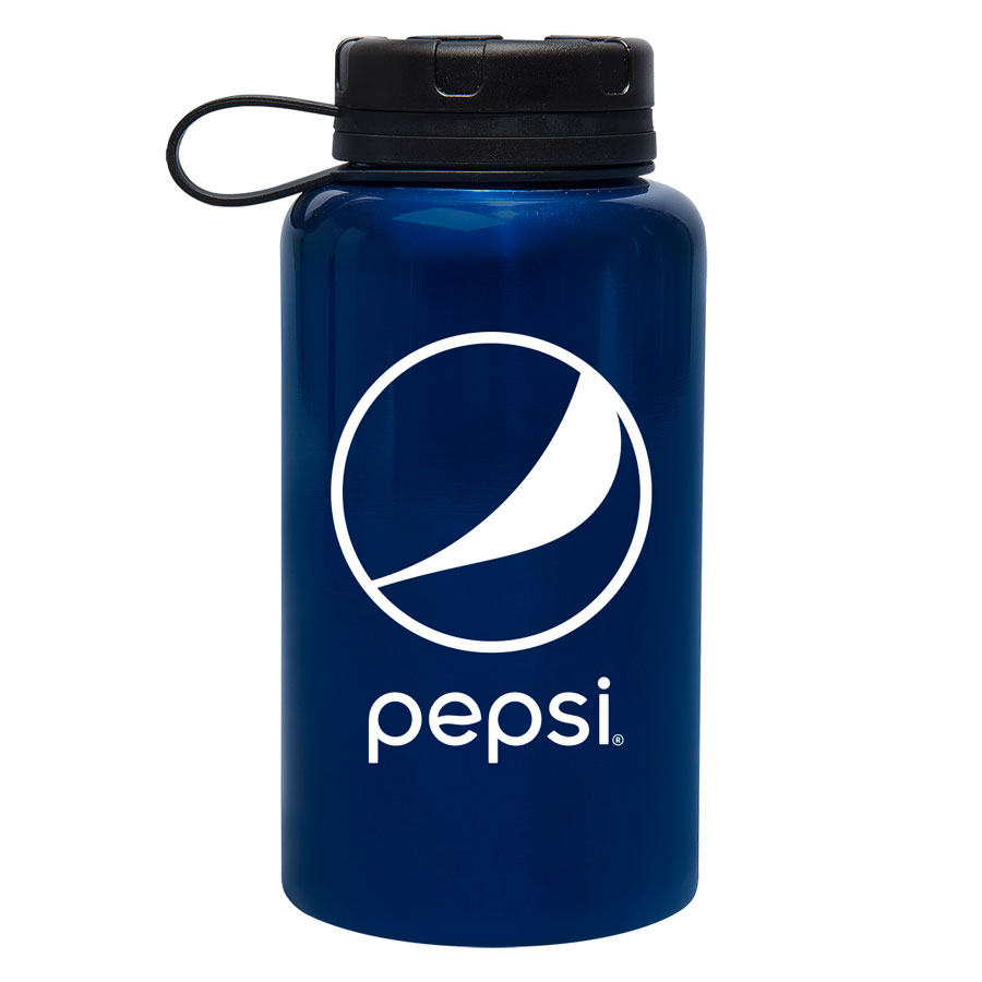 32 Oz. Montgomery Stainless Steel Bottle - Pepsi