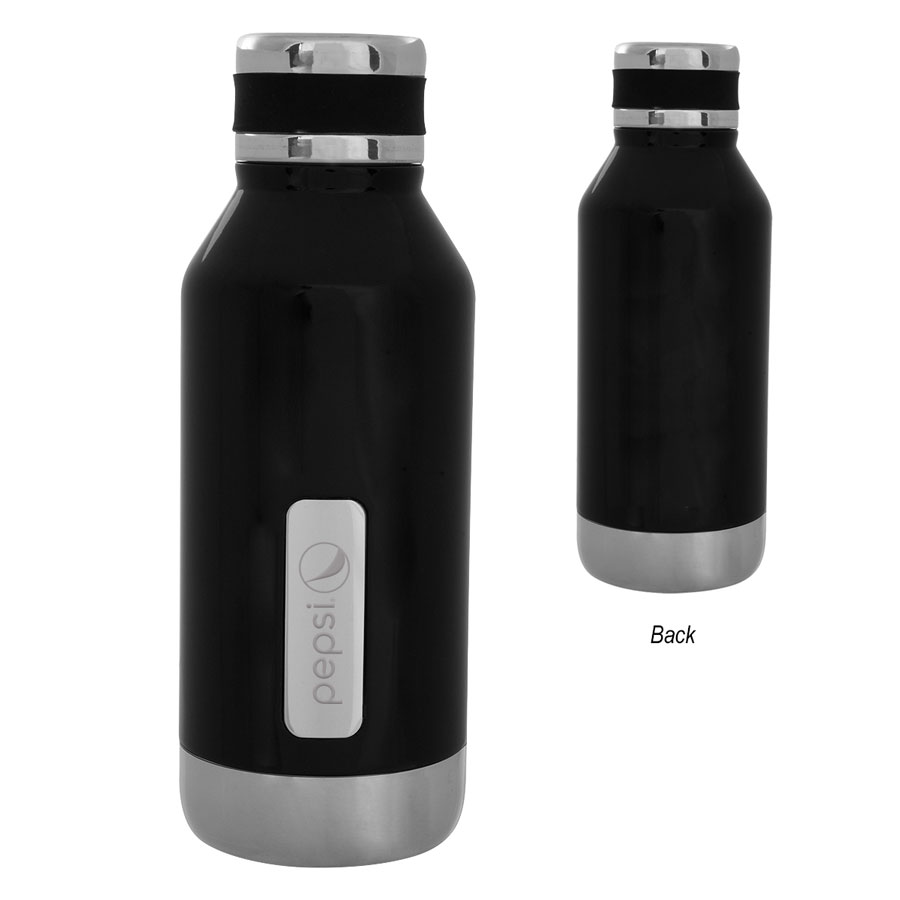 16 Oz. Caffrey Stainless Steel Bottle - Pepsi