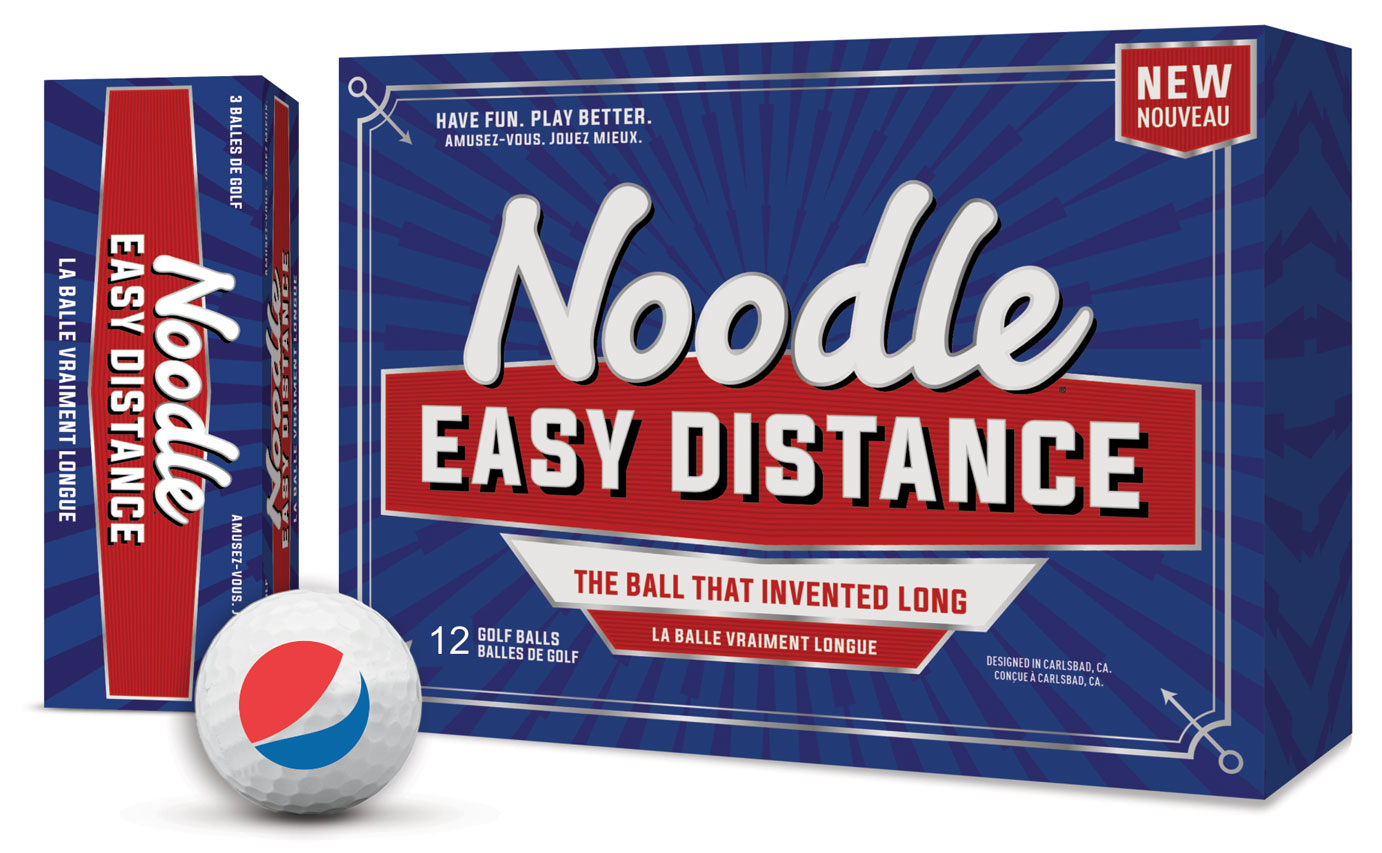 Noodle Easy Distance Golf Balls - Pepsi
