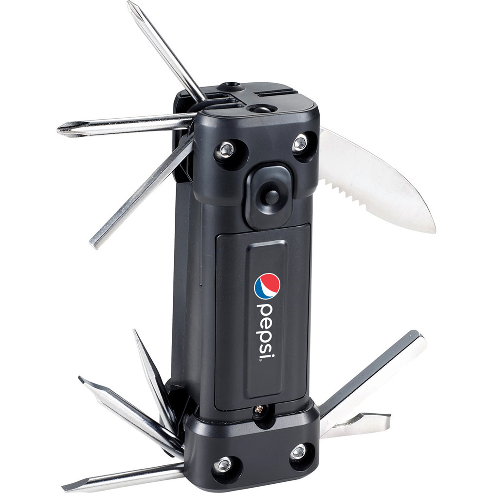 16-in-1 Flashlight Laser Multi-Tool - Pepsi