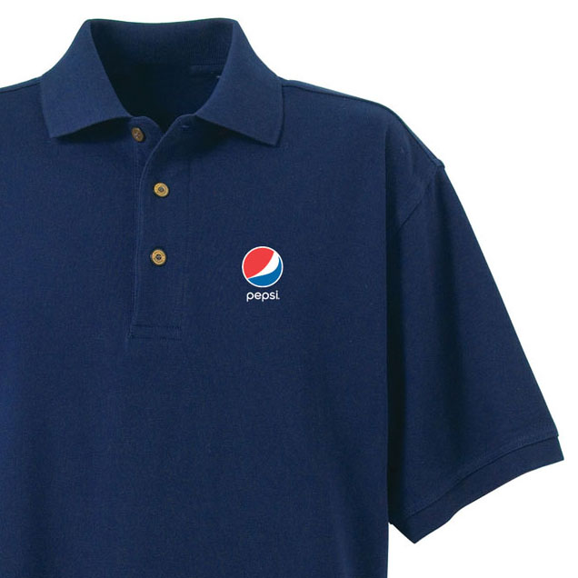 Men's Desert Sands Golf Shirt - Pepsi