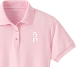 Ladies' eDry Double Knit Polo - Awareness