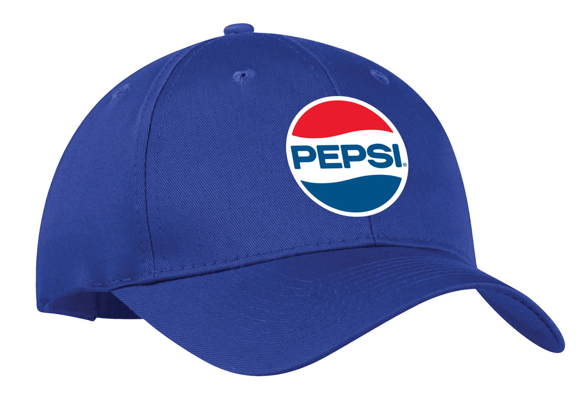 Comfort Zone Twill Cap - Royal - Pepsi Retro