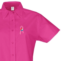 Ladies' Short Sleeve Easy Care Shirt - Awareness