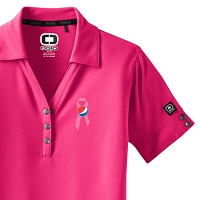 OGIO® Ladies  Glam Polo - Awareness
