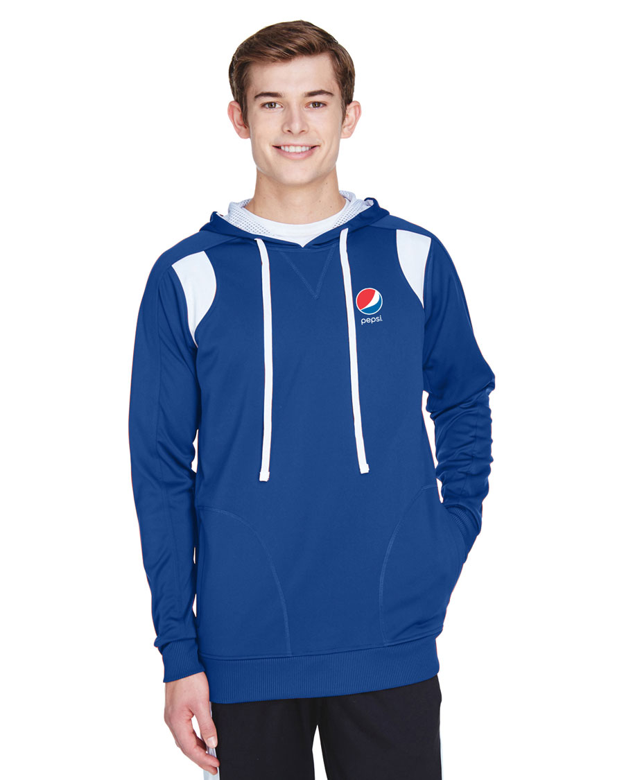Men's Elite Performance Hoodie - Pepsi