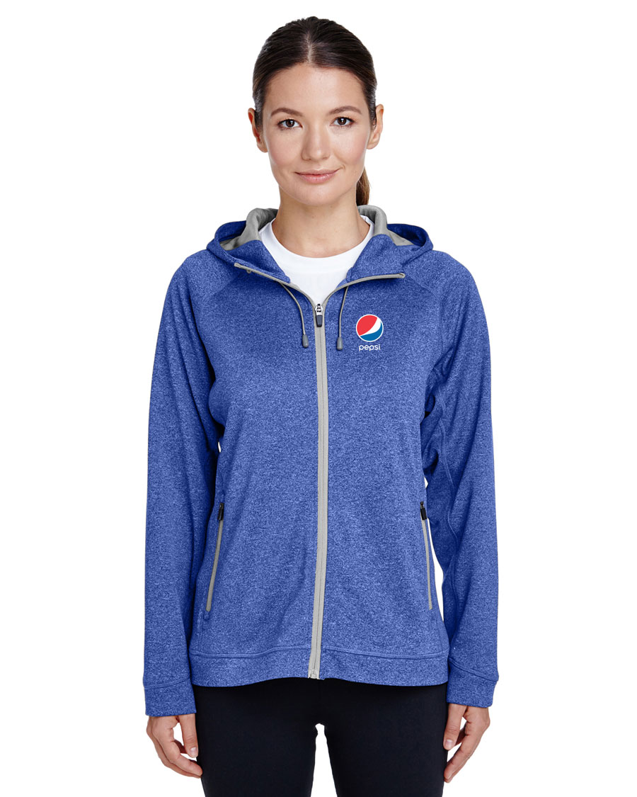 Ladies' Performance Fleece Jacket - Pepsi