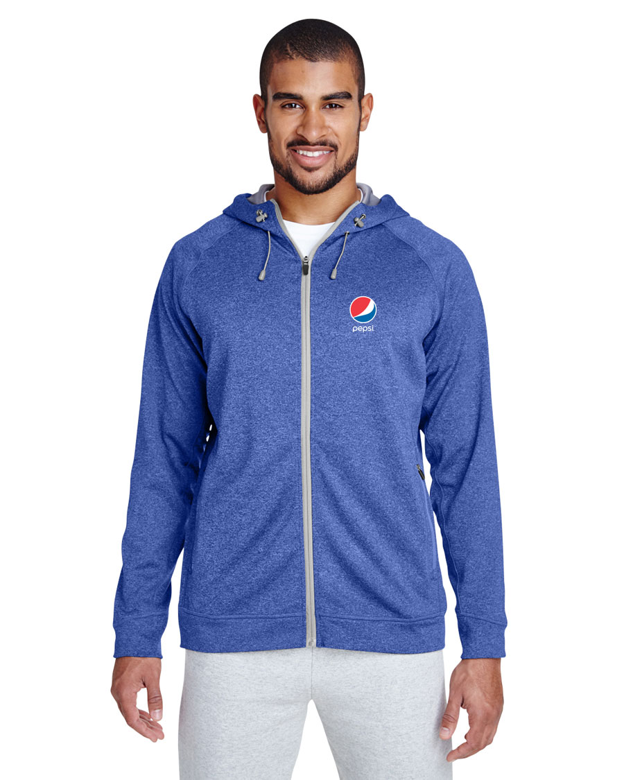 Men's Performance Fleece Jacket - Pepsi