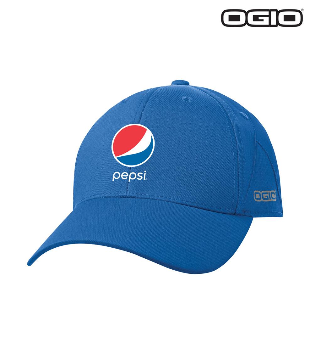 63b28eee75d Home   Headwear   OGIO Endurance Apex Cap - Pepsi