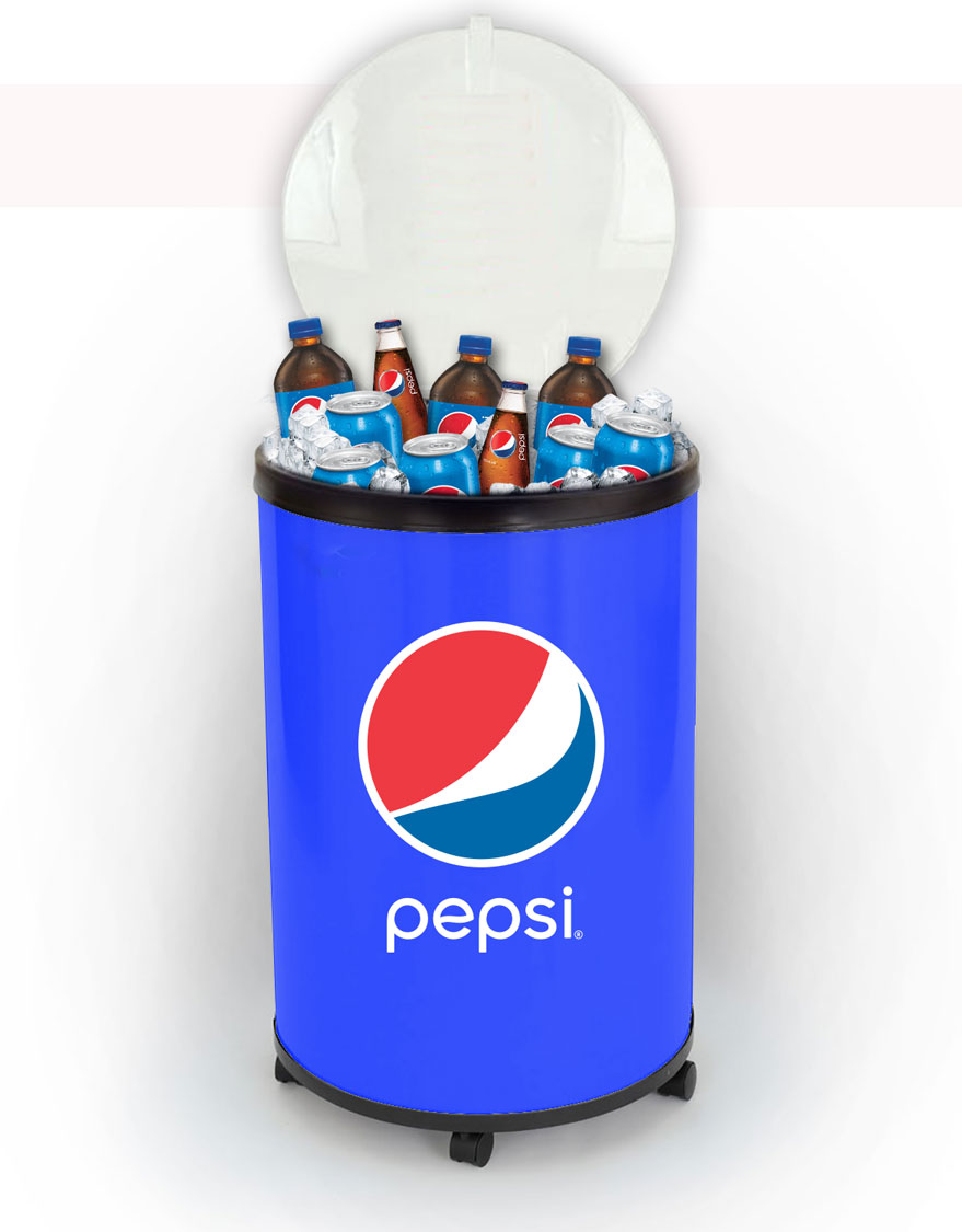 Ice Cooler Barrel - Pepsi - Login For Special