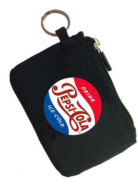 Pepsi Cola Retro Vintage Coin Purse Key Chain