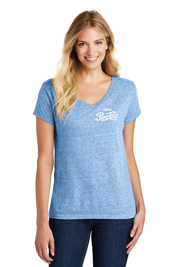 Ladies' Cosmic Relaxed V-Neck Tee - Drink Pepsi Cola
