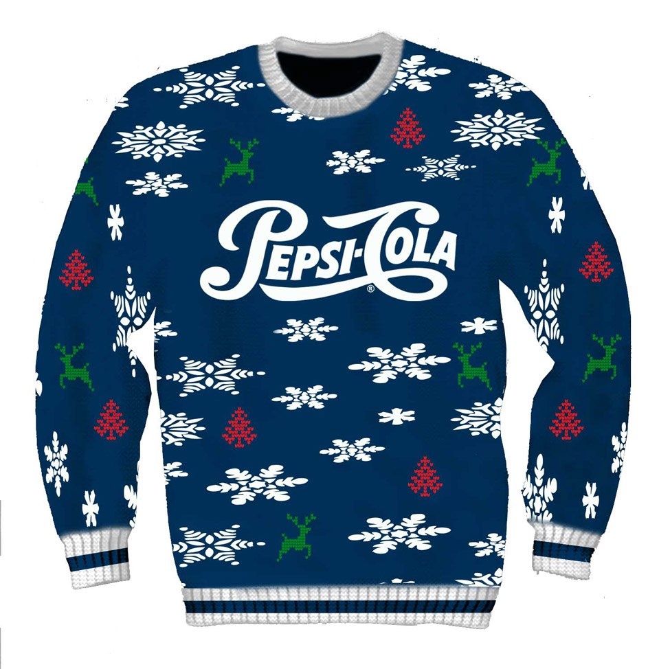 2020 Pepsi Cola Holiday Sweater