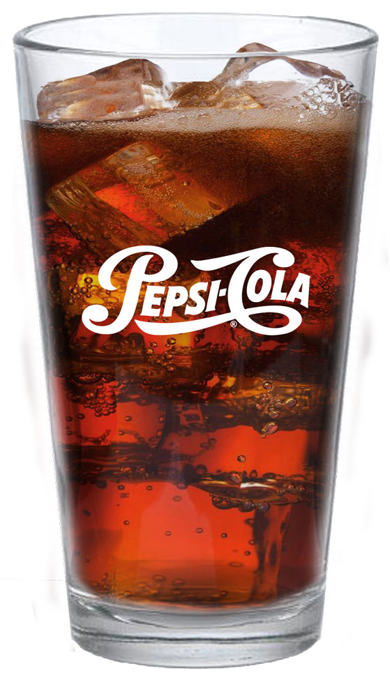 16oz High Density Acrylic Pint - Pepsi Cola - Login For Special $