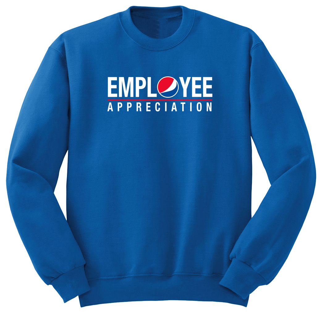 Comfort Zone Royal Unisex Sweatshirt - Employee Appreciation