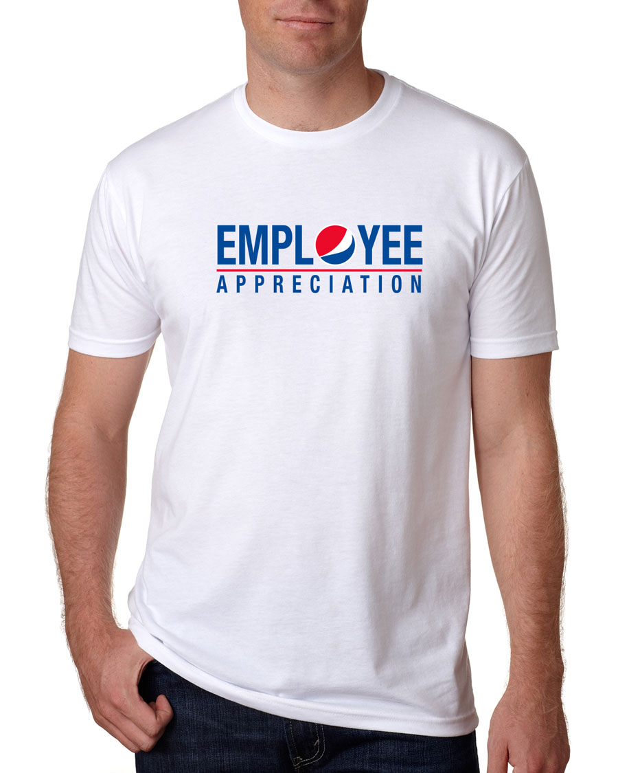 Men's White Tshirt - Employee Appreciation