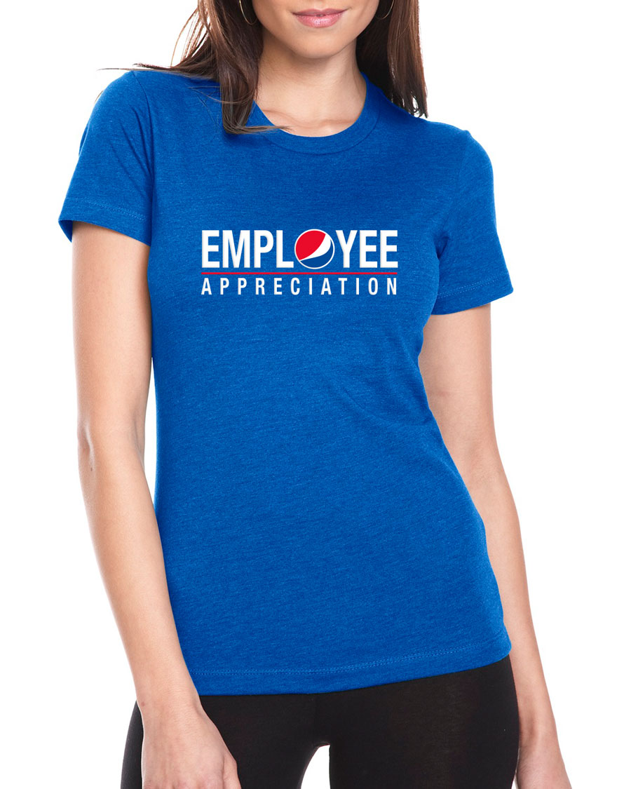 Ladies' Royal T-Shirt - Employee Appreciation