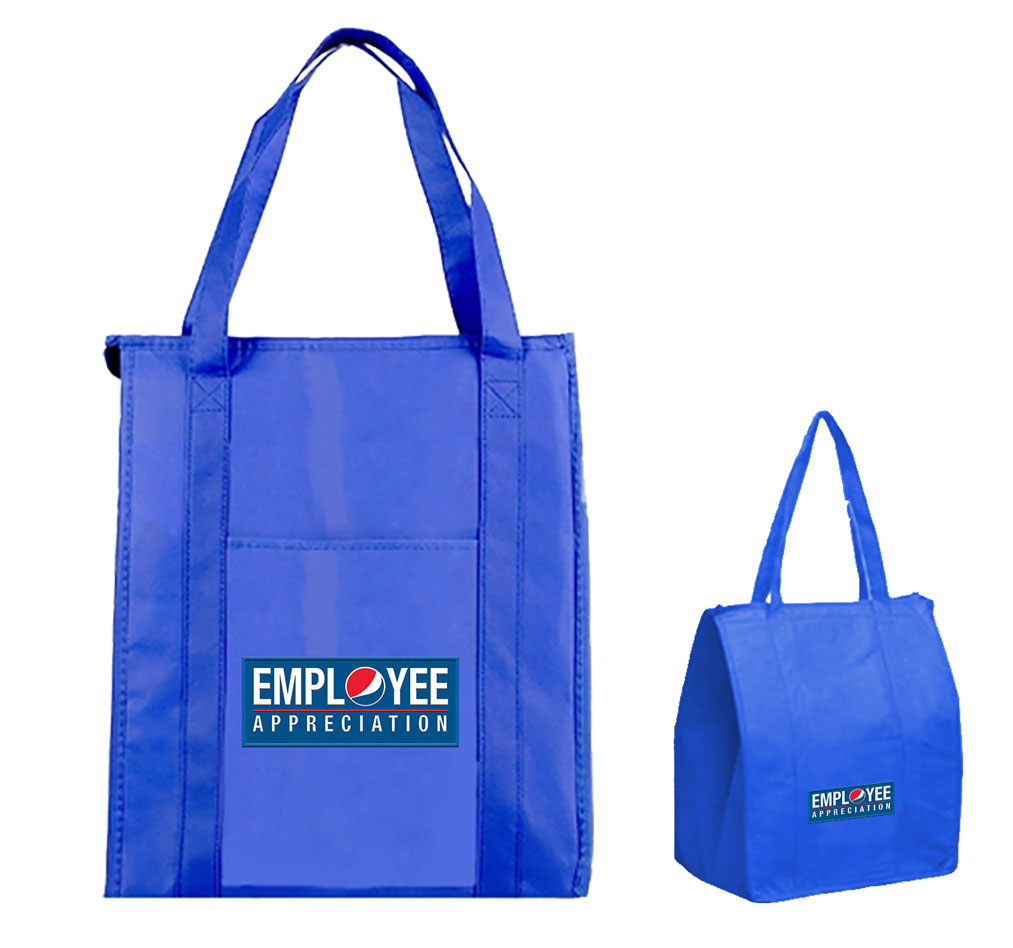 Zippered Insulated Cooler Tote Bag - Employee Appreciation
