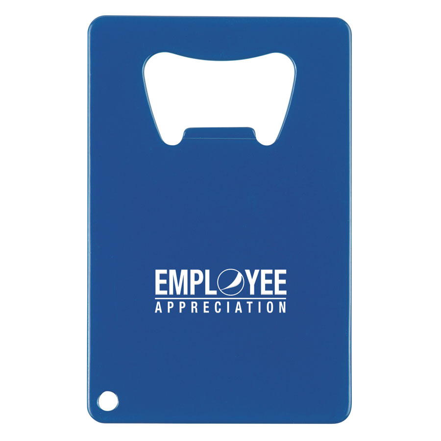 Credit Card Shaped Bottle Opener- Employee Appreciation