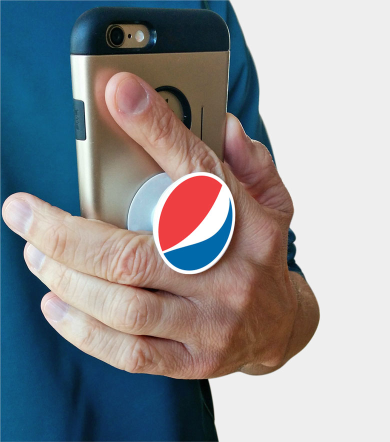 Collapsible Phone Stand - Pepsi Globe