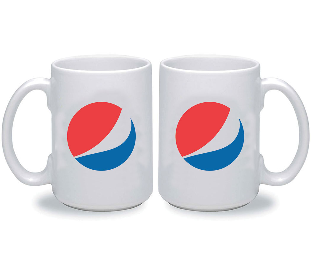 15oz Digital Ceramic Mug - Pepsi Globe