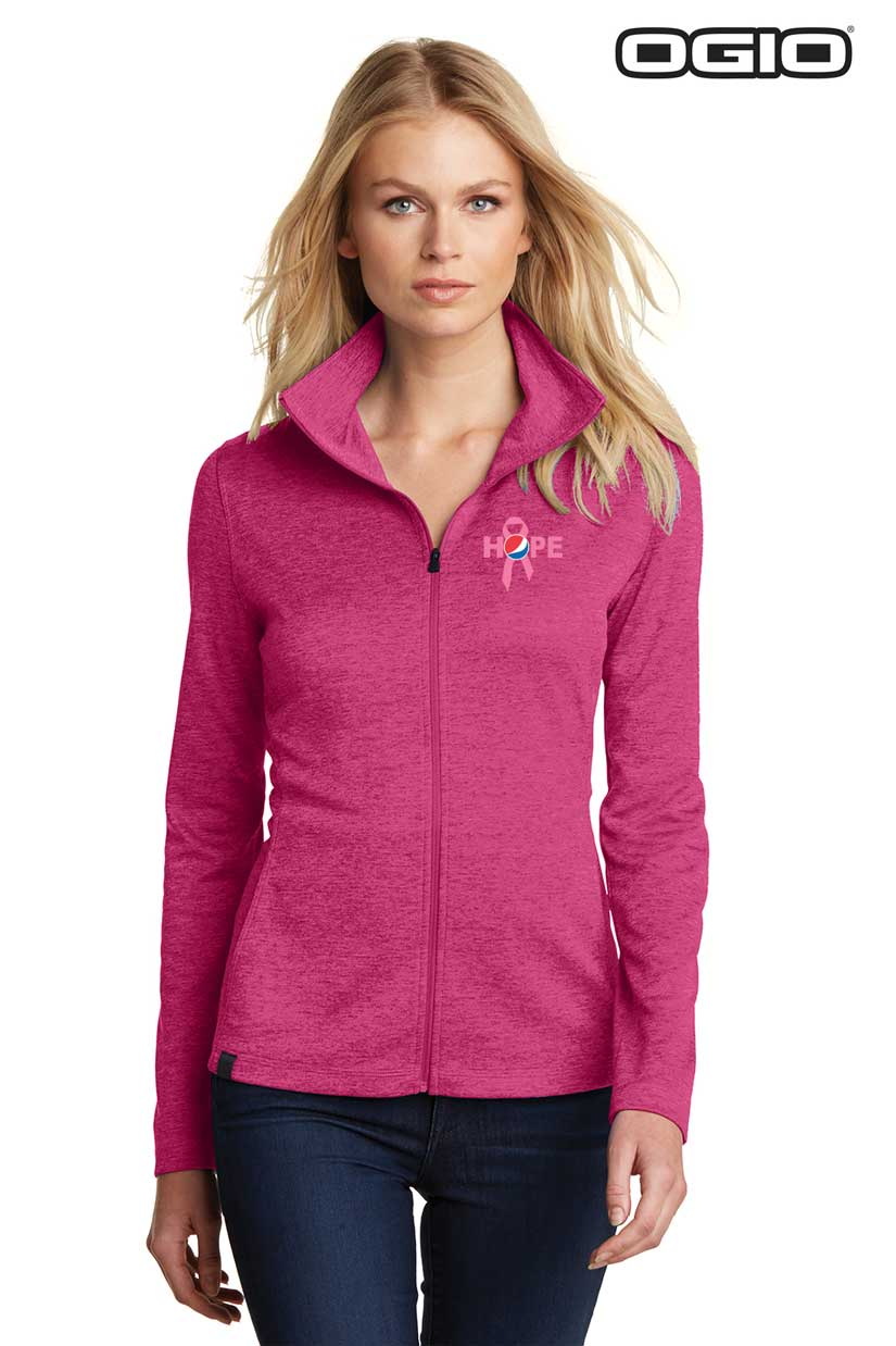 OGIO® Ladies Pixel Full-Zip - Awareness