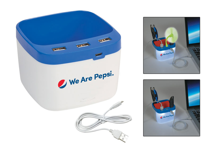 USB Desk Caddy - We Are Pepsi