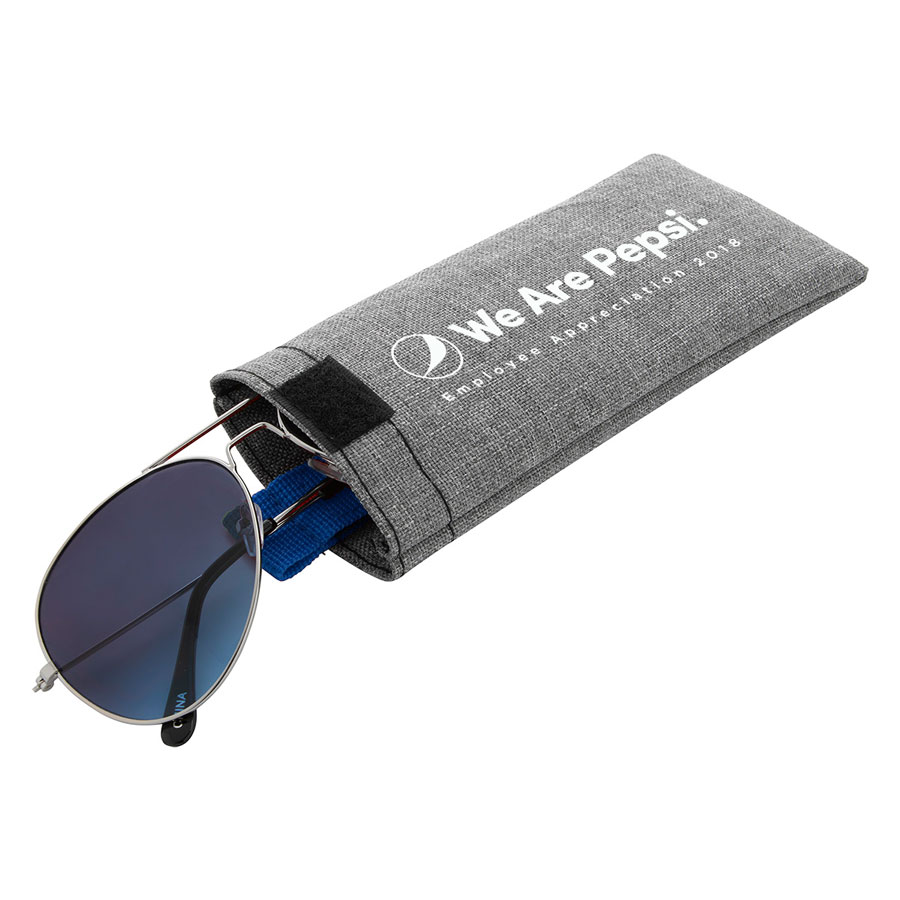 Heathered Eyeglass Pouch - We Are Pepsi