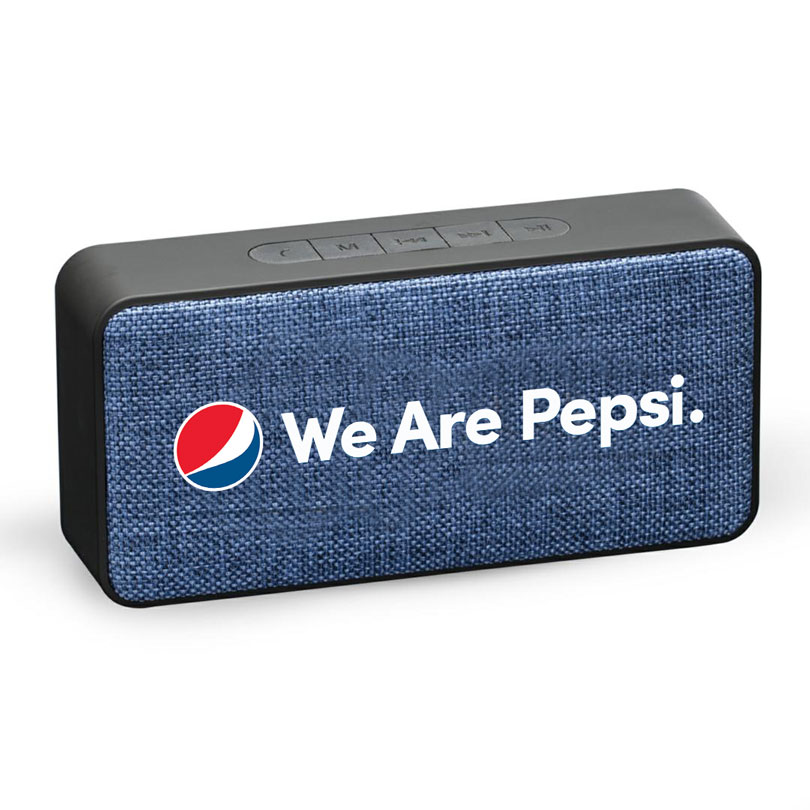 Rubberized Stereo Wireless Speaker - We Are Pepsi