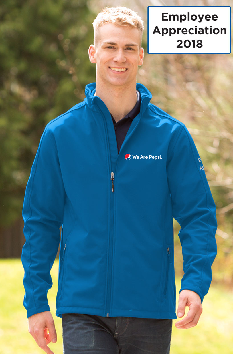 Men's Everyday Soft Shell Jacket - We Are Pepsi