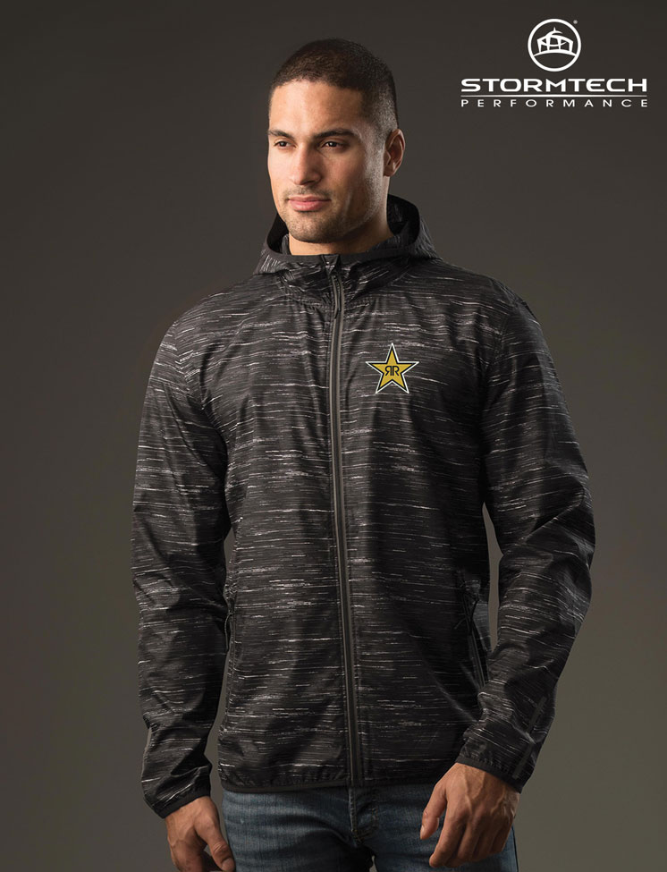 Men's Ozone Lightweight Shell Jacket - Rockstar