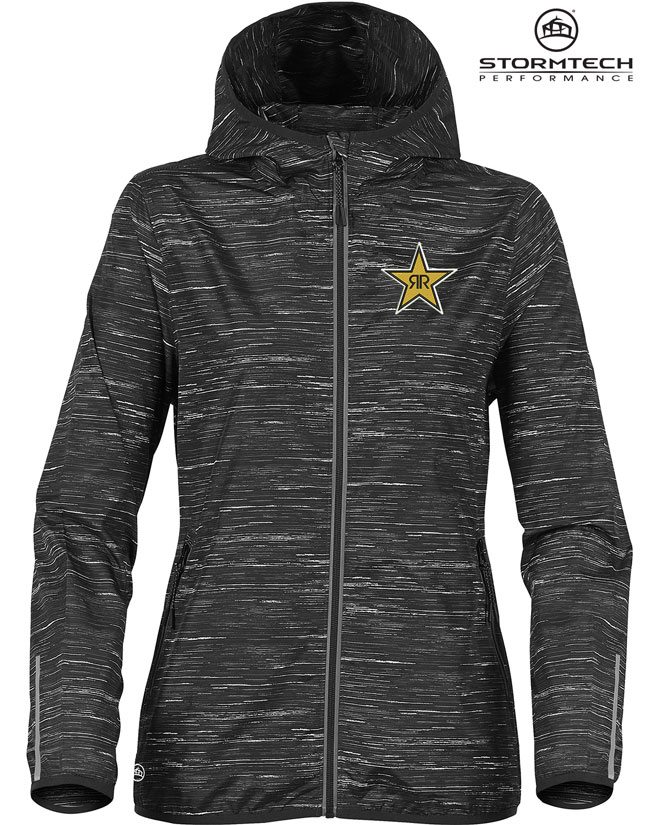 Women's Ozone Lightweight Shell Jacket - Rockstar