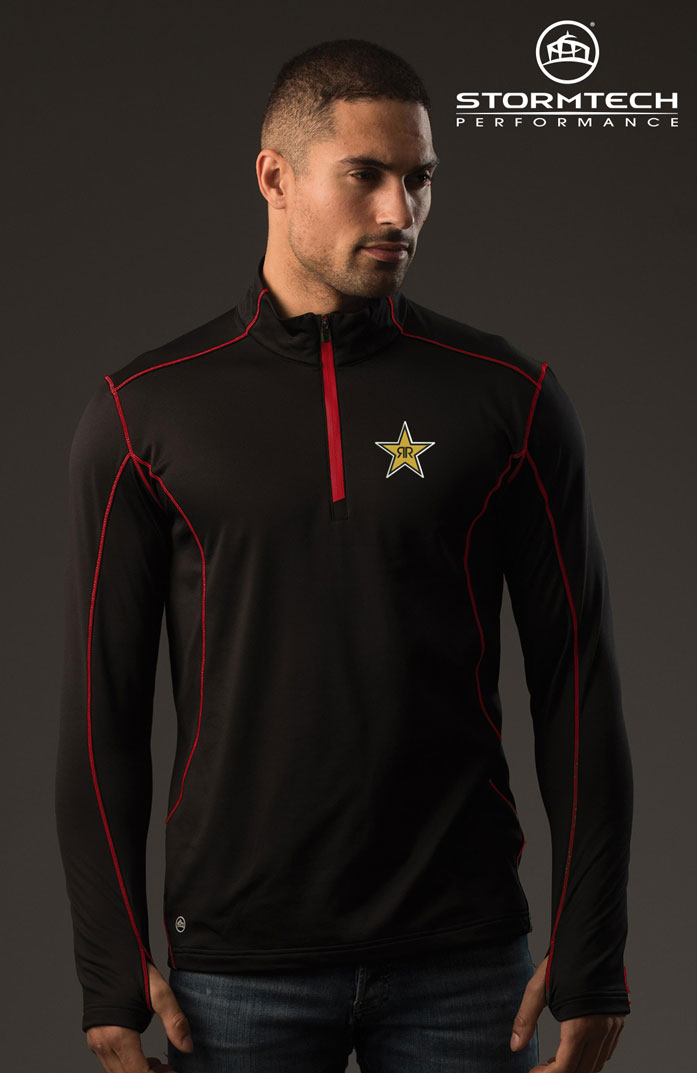 Men's Pulse Fleece Pullover - Rockstar