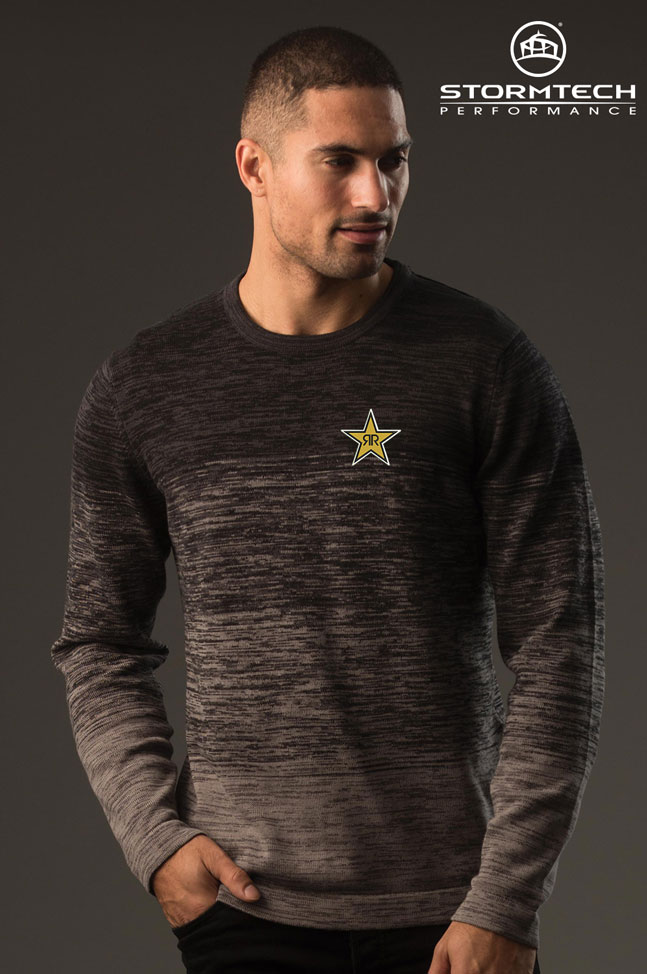 Men's Avalanche Sweater- Rockstar
