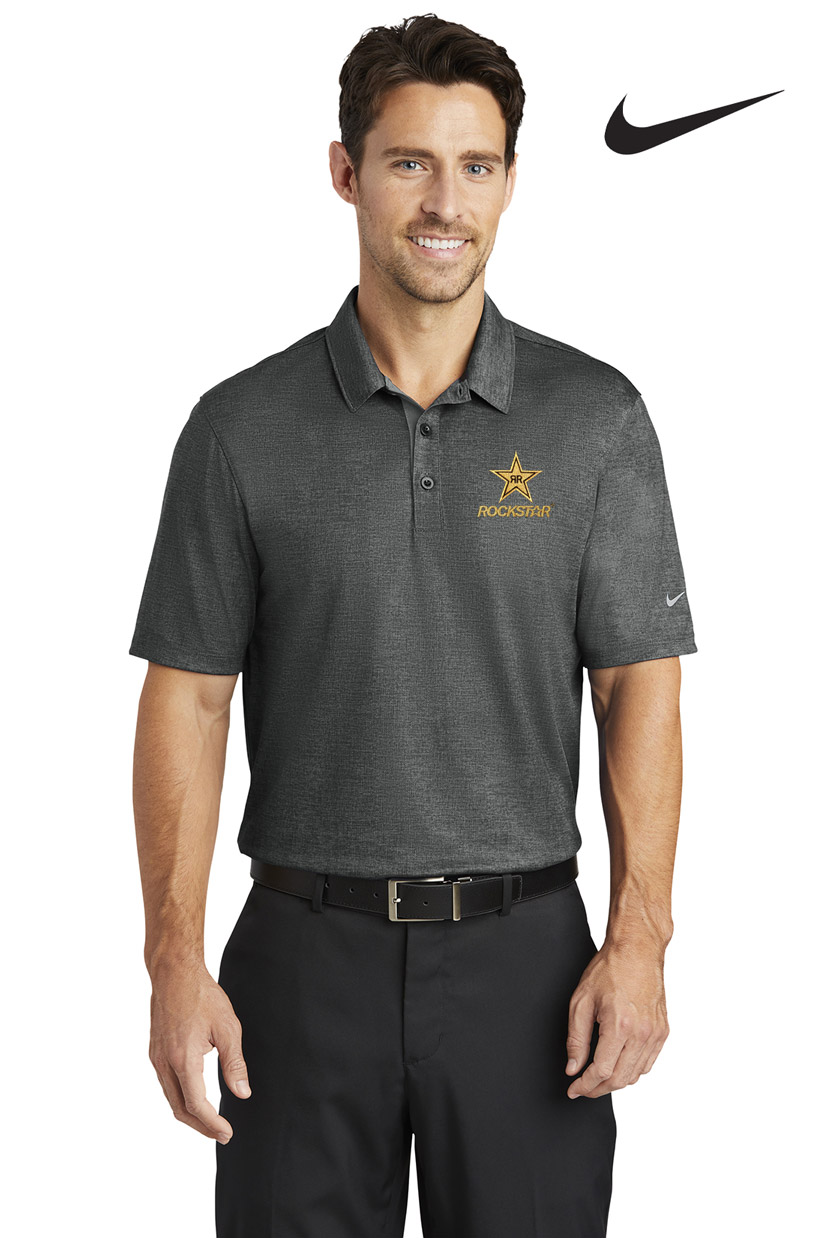 Nike Golf Men's Dri-FIT Crosshatch Polo - Rockstar
