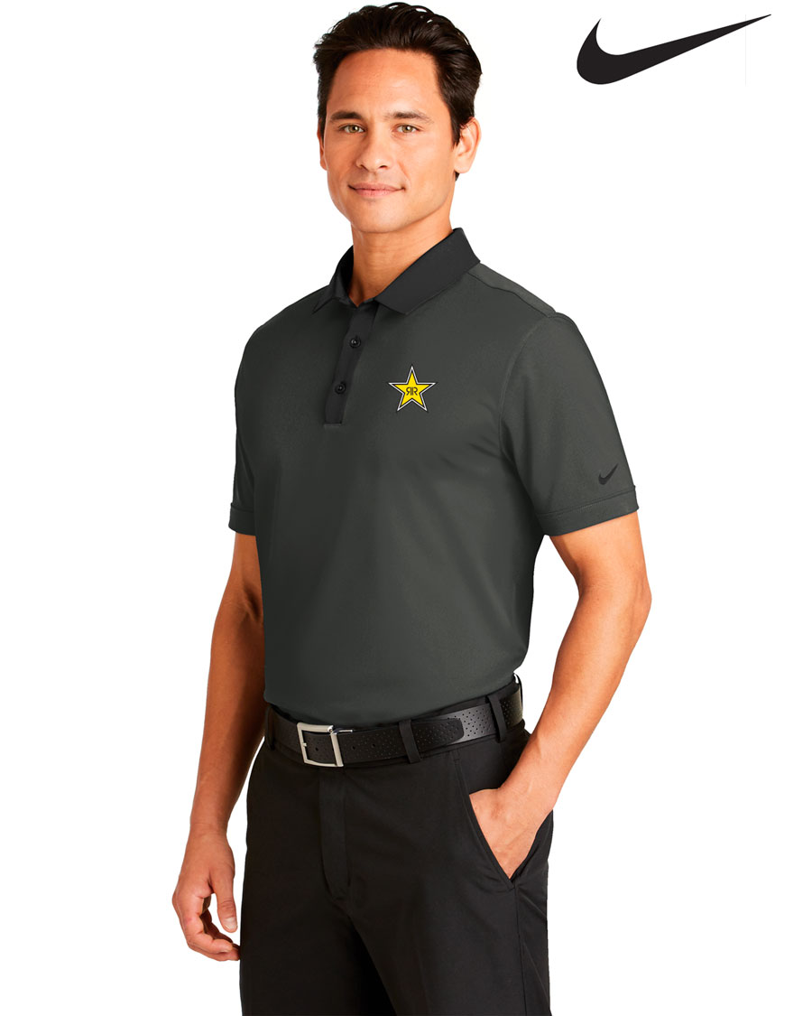 Nike Golf Men's Dri-FIT Heather Pique Modern Fit Polo - Rockstar