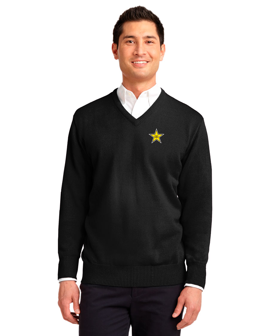 Men's  Value V-Neck Sweater - Rockstar
