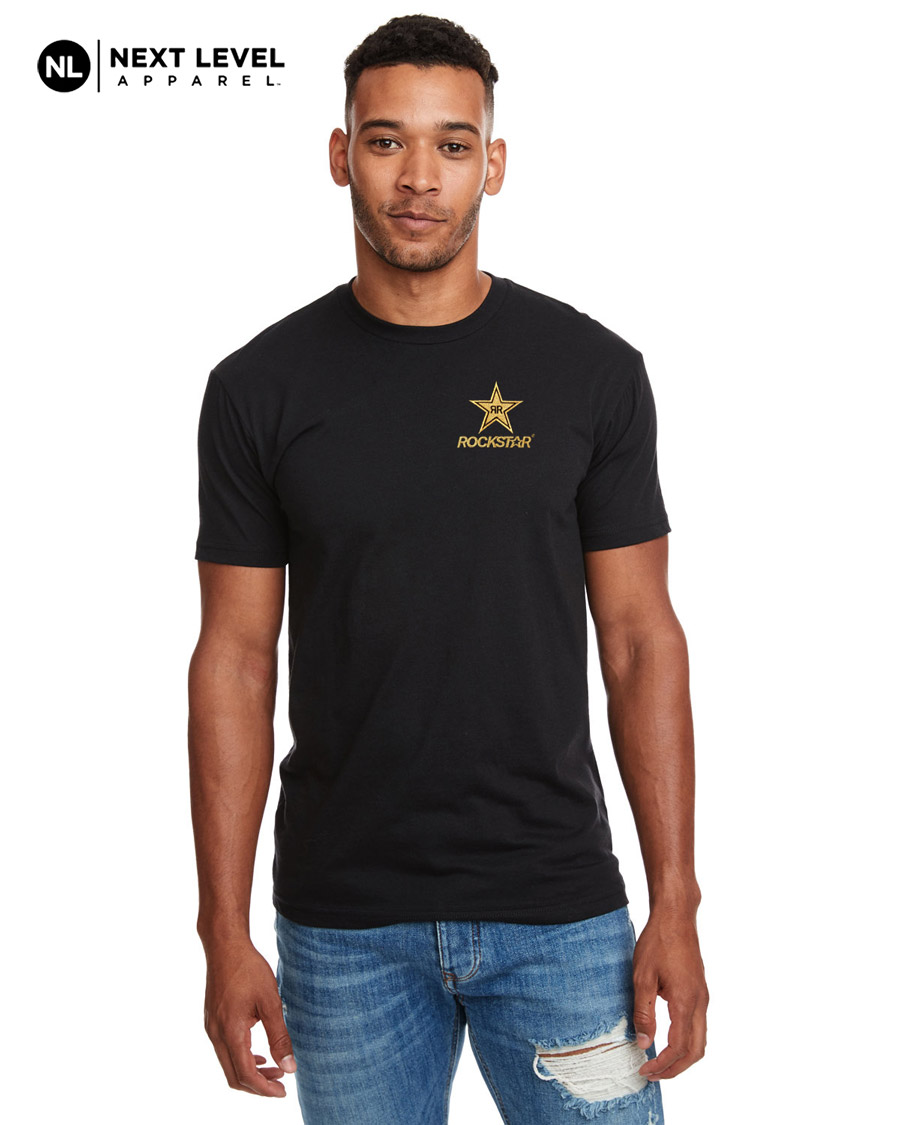 Next Level Men's CVC Crew T-Shirt - ROCKSTAR