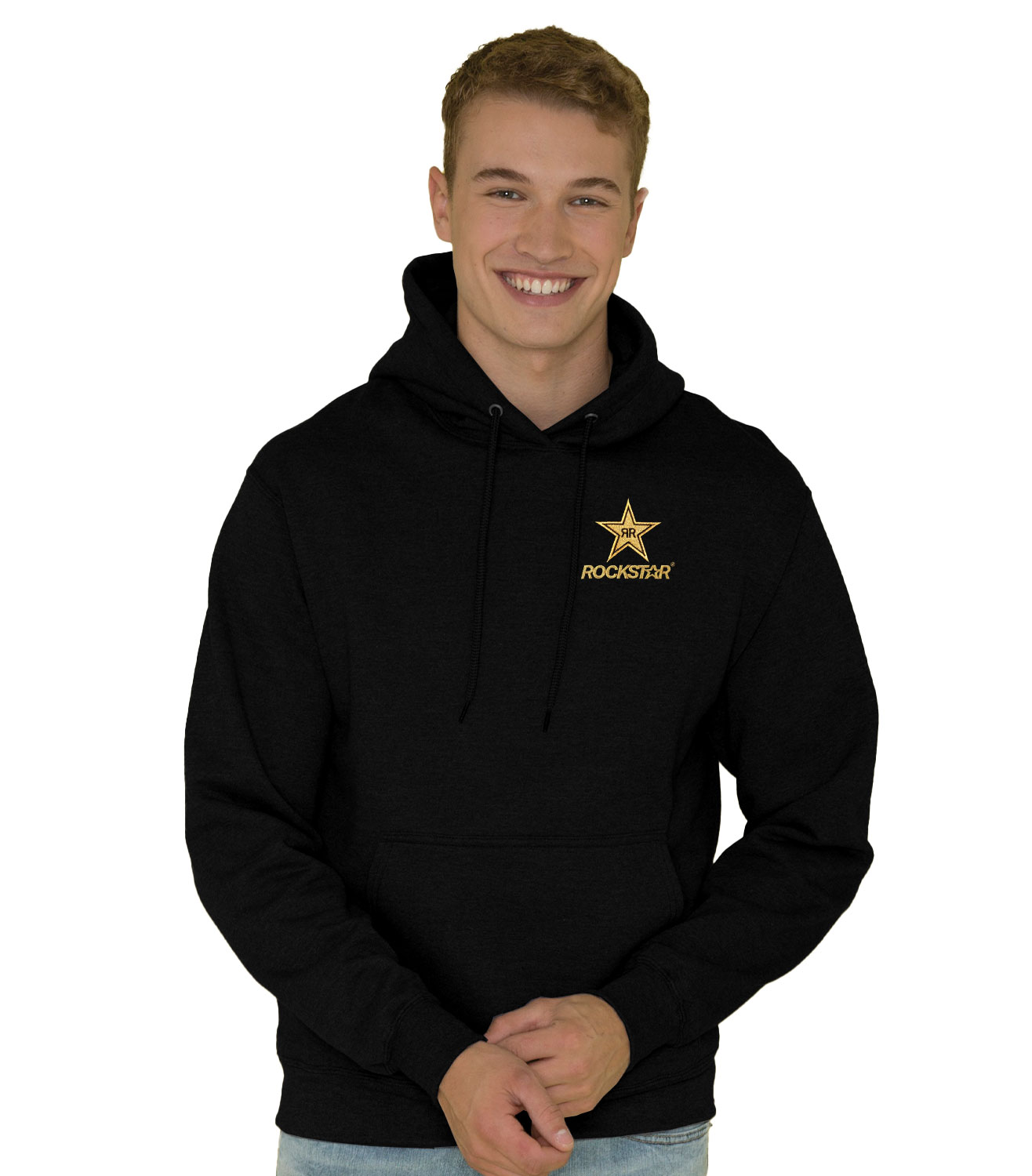 EVERYDAY FLEECE HOODED SWEATSHIRT - ROCKSTAR